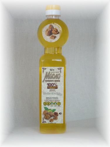 Масло грецкого ореха 100%   0,25 л